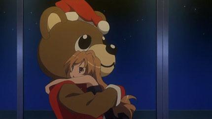 Ryuji as Santa with Taiga